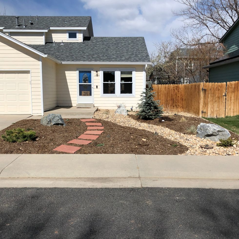 Front Yard Xeriscape